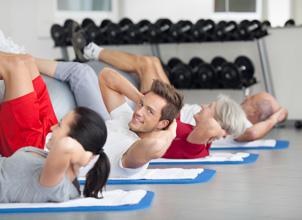 mave og ryg motion
